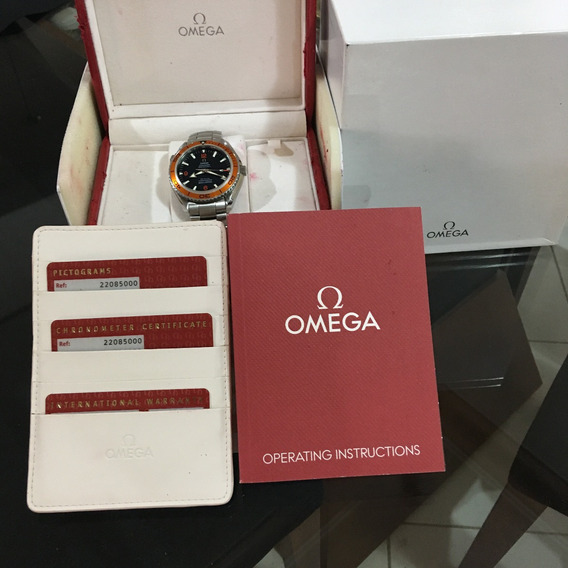 Omega Seamaster Planet Ocean 600 Co-axial Completo Rolex