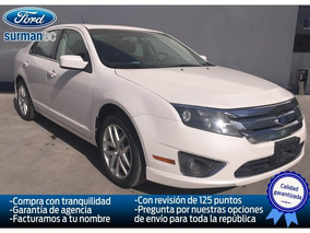 Ford Fusion 4 Pts. Sel, V6, Ta, Cd, Piel, Qc, Gps, Ra-17 20