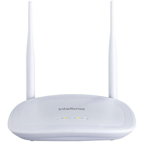 Roteador Wireless Intelbrás Iwr 3000n 300mb 2 Antenas