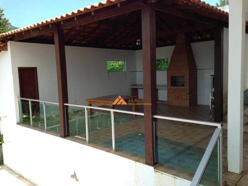 Sobrado Com 4 Dormitórios À Venda, 400 M² Por R$ 2.000.000,00 -  Escarpas Do Lago - Capitólio/mg - So0483