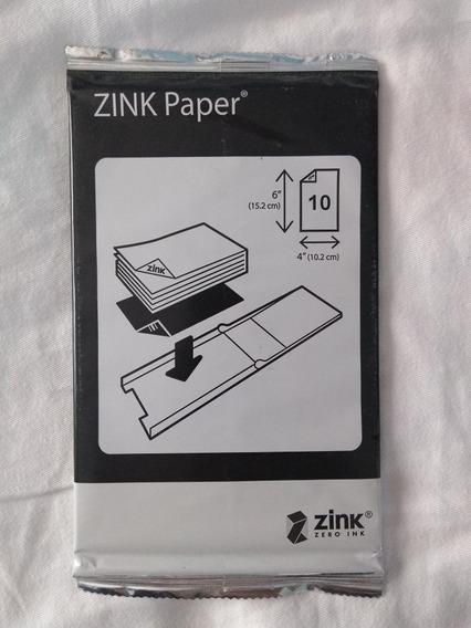 Palpel Zink (zero Ink) Para Impressora Pandigital