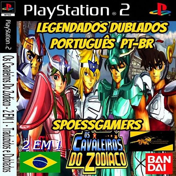 Cavaleiros Dos Zodíaco Pt-br 2 Em 1 (1 Dvd) Ps2 Patch