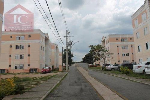 Apartamento Com 2 Dormitórios À Venda, 47 M² Por R$ 170.000,00 - Jardim Ísis - Cotia/sp - Ap0424