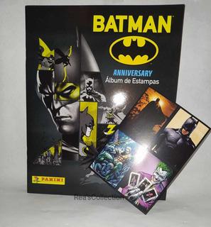 Álbum Batman 80 Años + 4 Estampas (panini Nuevo Original)