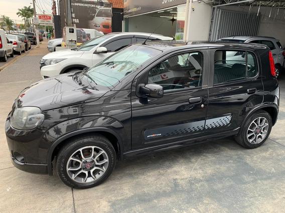 Fiat Uno 1.4 Sporting Flex, Completo, Rodas De Liga Leve