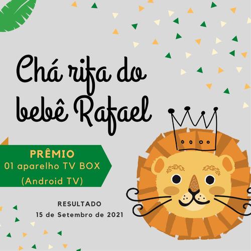 Imagem 1 de 6 de Convite Digital Chá Rifa