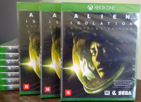 Alien Isolation Nostromo Edition Xbox One Novo Mídia Física