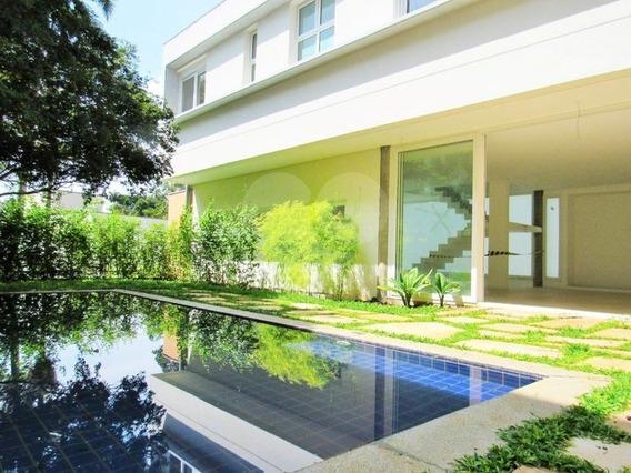 Casa Nova Em Condomínio 4 Suítes No Alto Da Boa Vista - 375-im57145