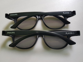 Óculos 3d Original Philips Tv 42pfg6809/78 Kit 6 Unidades