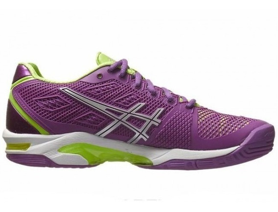 Tênis Asics Gel Solution Speed 2 - Grape/silver/sharp Green