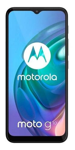 Imagem 1 de 8 de  Moto G10 Dual SIM 64 GB branco-floral 4 GB RAM