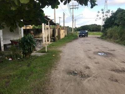 Terreno No Bairro Bopiranga, Em Itanhaém, Litoral Sul De Sp