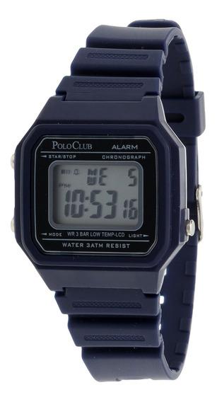 Reloj Hombre Mano Digital Polo Club Caballero Rlpc2980b