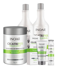 Kit Inoar Cicatrifios Completo 5 Produtos+ Maria Escandalosa