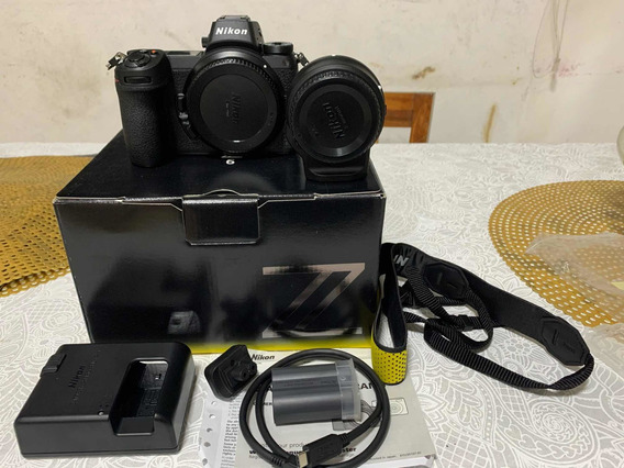 Camera Nikon Z6 Com Adap Ftz Zero, Sem Uso Mirrorless