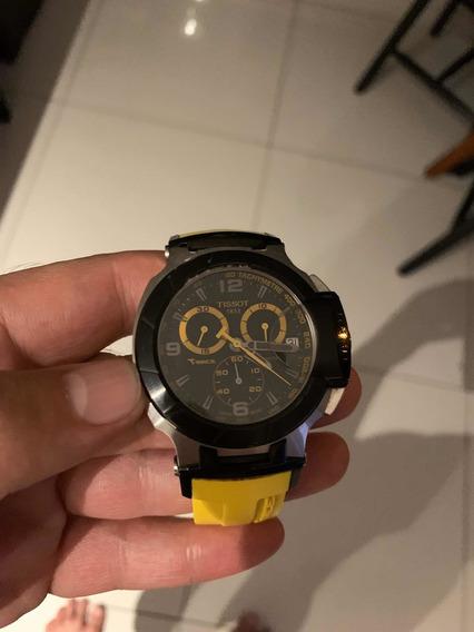 Relógio Tissot Amarelo, Seminovo, Original, Na Caixa