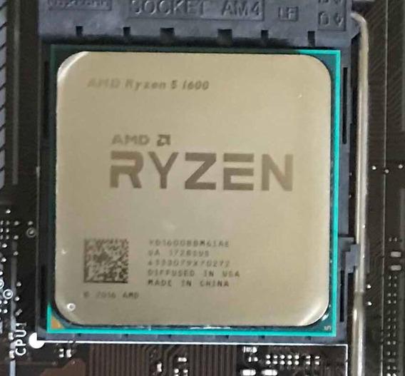 Amd Ryzen 5 1600 Hexa-core 3.2ghz (3.6ghz Turbo)