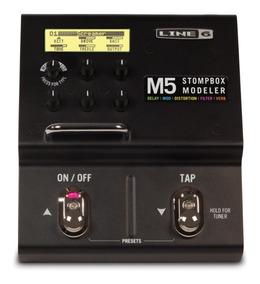 Pedaleira Line 6 M5 Stompbox Modeler Novo C/ Nf-e