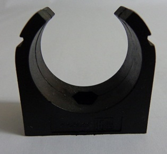 Abraçadeira Pl P Tubo De 1 Pol. Preta (kit C 10 Pçs)