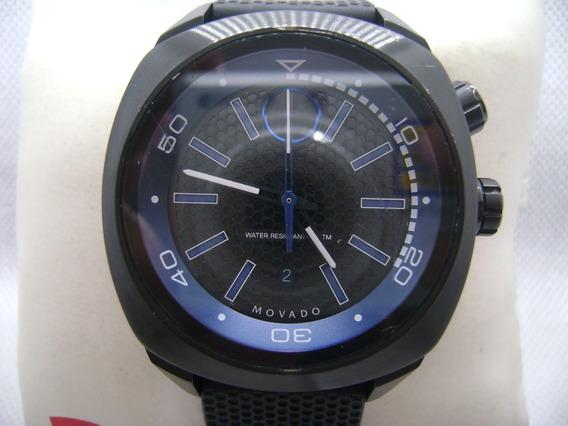 Reloj Movado Bold Original Suizo Moderno Tamaño Jumbo