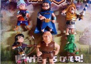 Figuras - Muñecos Clash Royale - Clans Of Clash X6