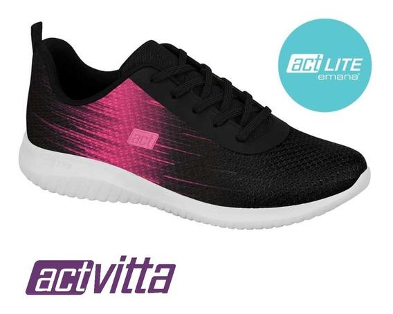 Tênis Activitta Feminino Conforto Esportivo