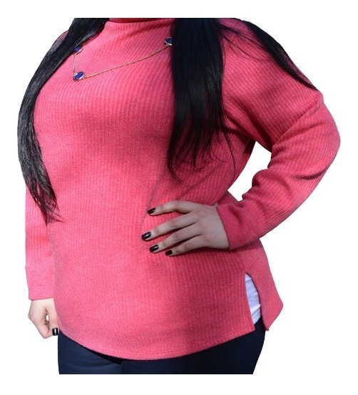 Sweater Mujer Talles Grandes Especiales Estilo Extra Large
