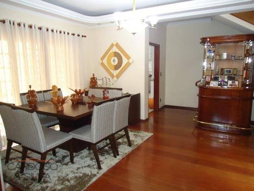 Casa Com 3 Dormitórios À Venda, 322 M² Por R$  - Jardim Boa Vista - Santa Bárbara D'oeste/sp - Ca0172