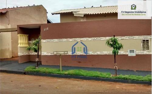 Casa Com 3 Dormitórios À Venda, 70 M² Por R$ 210.000,00 - Jardim Caetano Ii - São José Do Rio Preto/sp - Ca0746