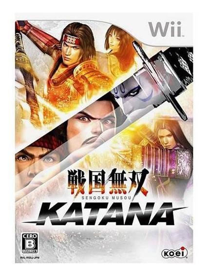 Samurai Warriors - Katana - Wii - Mídia Física | Lacrado