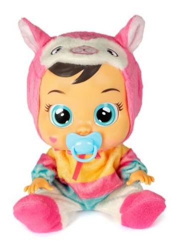 Muñeca Bebes Llorones Baby Cry Lena La Llamita Original