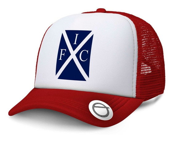 El Rojo Gorra Trucker Independiente Ifc