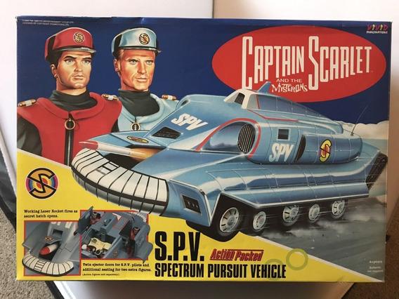 Veículo Espacial Spv Capitão Escarlate Da Vivid Imagination