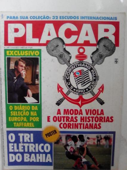 Revista Placar 949 P Bahia Tri Campeão Corinthians Inter1988