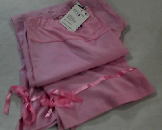 Pantalon Capri Maternal Prenatal Talla U, Rosado
