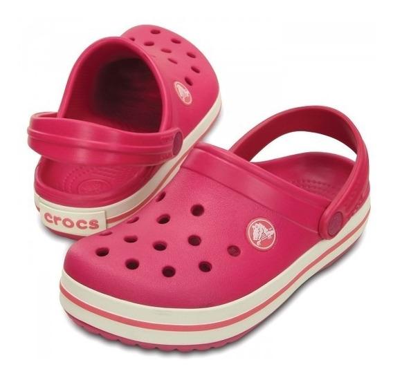 Crocband Crocs Niña Raspberry Original