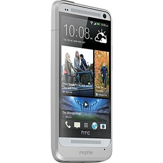 Mophie Juice Pack Para Htc One M7 2500 Mah Silver