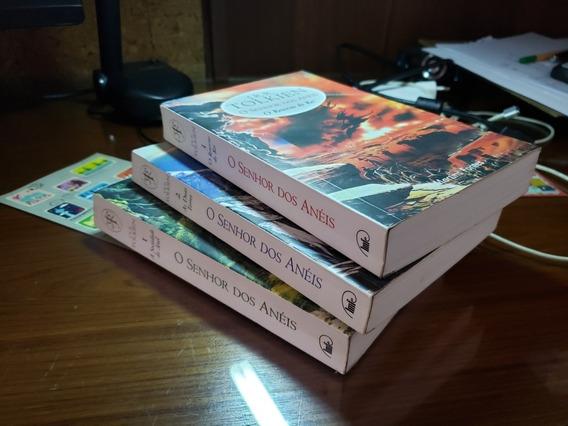Livros Senhor Dos Anéis + O Silmarillion