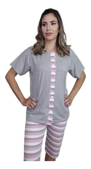 Pijama Gestante Maternidade Le Moncy