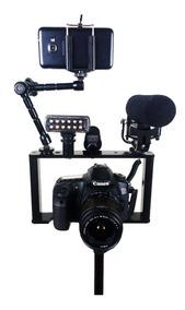 Estabilizador Cage Gaiola Slin P/sony, Canon, Nikon Dslr