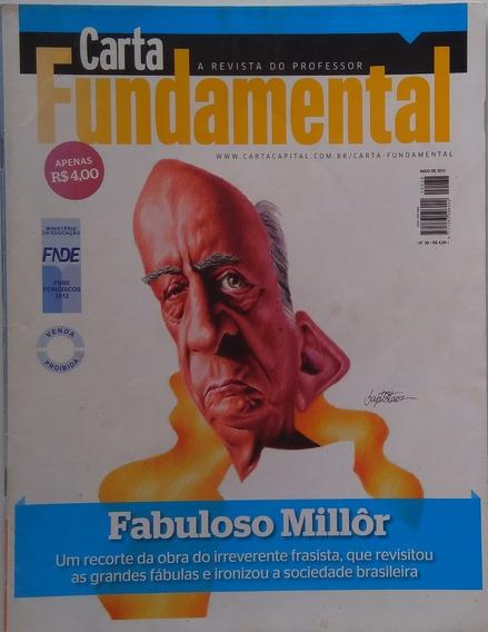 Revista Carta Fundamental Nº 38 Fabuloso Millôr