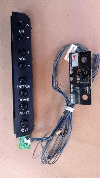 Teclado Controlador + Sensor Tv Lcd Lg 32lk330