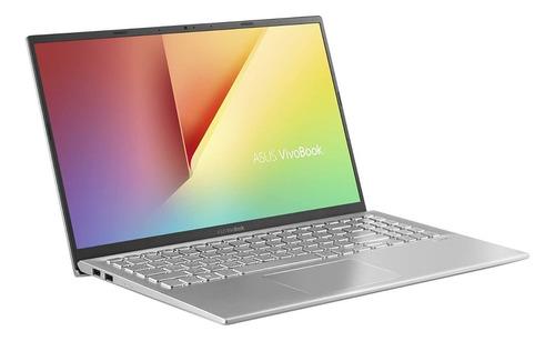 "Imagen 1 de 6 de Notebook Asus VivoBook S512FL gris 15.6"", Intel Core i7 10510U  8GB de RAM 512GB SSD, NVIDIA GeForce MX250 1920x1080px Windows 10 Home"