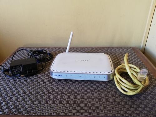 Router Netgear 108 Mbps Wireless Wgt624v4