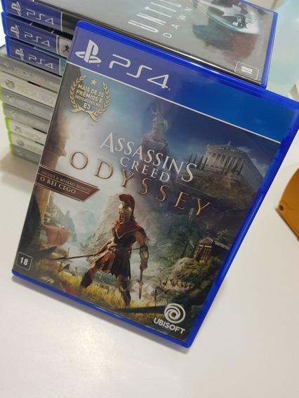 Assassins Creed Odyssey Ps4 Física Usado Perfeito Estado Pt