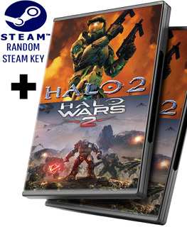 Random Steam Key + Halo 2 Online + Halo Wars 2 Edición Completa - Pc Windows + Regalo