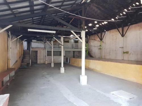 Imagem 1 de 1 de 408 Galpão Com Salão, 2 Banheiros Na Vila Antonina, 320m²