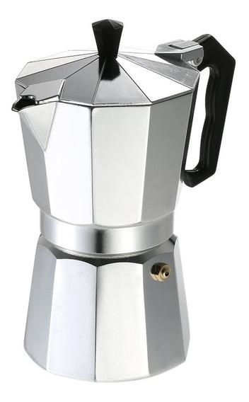 Cafetera Aluminio Clasica 450ml 9 Pocillos Bae