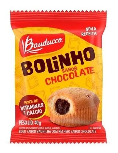 Imagem 1 de 1 de Bolinho De Baunilha Com Chocolate Bauducco 40g