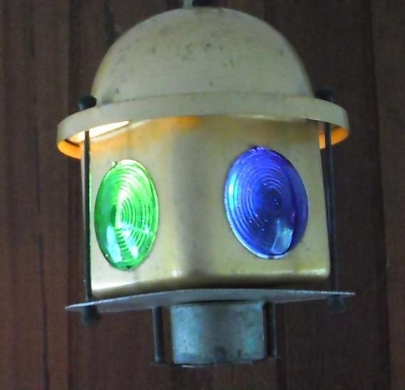 Luminaria Pendente Antiga - Sinaleira Giratoria